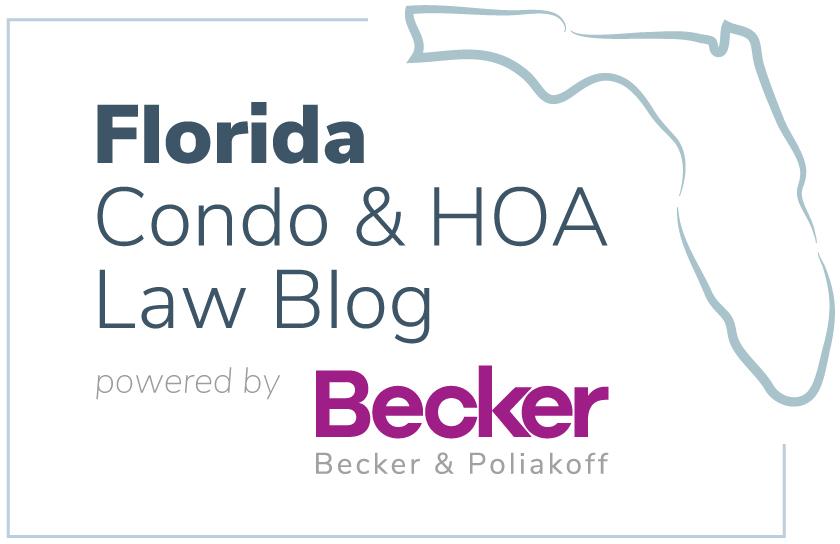Florida Condo & HOA Law Blog | Powered by beckerlawyers com
